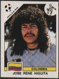 #JoseReneHiguita The Cher look, says 'take me seriously'