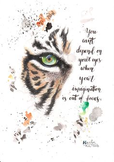 Original Abstract Art - Mixed Media Painting & Calligraphy Quote - Tiger's Eye in Abstract Style by KassArtStudio on Etsy https://www.etsy.com/uk/listing/555246073/original-abstract-art-mixed-media