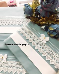 Arzu Karaman's media statistics and analytics Sewing Hacks, Sewing Tutorials, Sewing Projects, Crochet Cushions, Lace Making, Comforter Sets, Linen Bedding, Crochet Lace, Duvet Covers