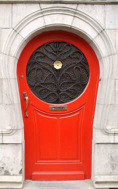 In Irish folklore, it is thought that painting one's door in red keeps away bad luck and wards off ghosts and evil spirits.