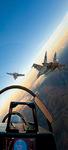 On board Sukhoi 35 Fighter Jet Military Jets, Military Aircraft, Fighter Aircraft, Fighter Jets, Stealth Aircraft, Photo Avion, Sukhoi, Jet Plane, Aviation