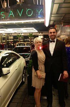 Craig Landale of Menswear Style wearing our Cabot Wool Bow Tie at the British Fashion Awards 2012