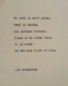 Les Miserables.