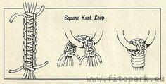 плетение кашпо макраме