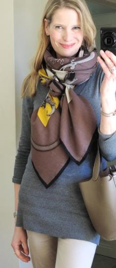 MaiTai's Picture Book: Capsule wardrobe #125 - early spring | L'Instruction du Roy Hermes cashmere and silk shawl