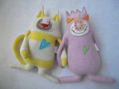 Baby Pink Monster Stuffed Animal