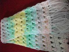 crochet scarf - Crochet creation by mobilecrafts