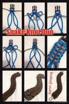 The Snake Knot Duo Tutorial                                                                                                                                                     Mehr