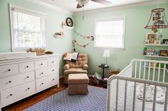 the jensens: Home Sweet Home. color on walls is Mint Condition by Sherwin Williams
