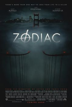 """Zodiac"" 2007.  I think this is David Fincher's masterpiece. A technically-perfect film about the real-life, and really terrifying, Zodiac killer that is less about his murders than about the nature of obsession during the decades-long police investigation. The true identity of the Zodiac Killer is still a mystery to this day. If you have not seen this you have seriously missed out!"