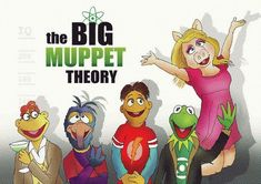 Die Muppets, Miss Piggy Muppets, Kermit And Miss Piggy, Kermit The Frog, Disney Crossovers, Cartoon Crossovers, Muppet Babys, Big Bang Theory Funny, Muppets Most Wanted