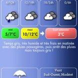 View bigger - Météo Paris for Android screenshot