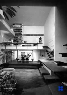 paul rudolph… hirsch / holsten house, new york 1968 / 74 Mid-century Interior, Interior Architecture, Interior And Exterior, Interior Decorating, Paul Rudolph, Mid Century House, Mid Century Modern Design, Contemporary Interior, Decoration