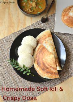 How to make Idli/Dosa Batter / Homemade Idli/Dosa Batter /Soft Idli & Crispy Dosa Batter without Idli Rice