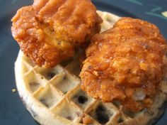 The Yankee Chef™ : 'Yanked' Chicken and Waffles