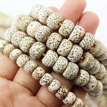 20pcs/lot 6x8mm Natural Buddha Bodhi Loose Beads for Bracelet  CN-BTA048(China (Mainland))