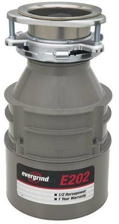 garbage disposals 42022 new in sink erator 75951 e202 evergrind 1 2 hp - Kitchen Sink Erator