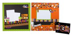 Layouts and card idea using the Doodlebug Halloween Parade line. More layout ideas here: https://www.facebook.com/media/set/?set=a.10151229626570849.443270.111565350848=3=1