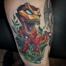 Tattoo by - Künstler Body Tattoos, Color Tattoos, Tattoo Spirit, Comic, Tattoo Designs, Tattoo Ideas, Tatting, Ink, Photo And Video