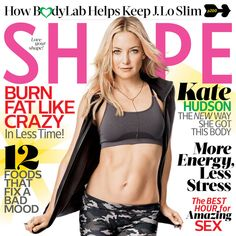Get inspired and check out #KateHudson as she rocks the cover of this months #Shape magazine. f