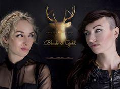 black & gold - women's fashion - blog  ICONY
