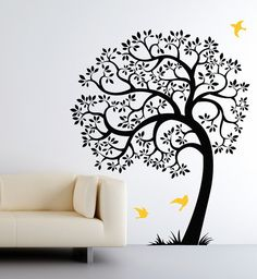 Original Tree Decals Sticker 80H x 67W SKU1506 Tree by CherryWalls, $74.00