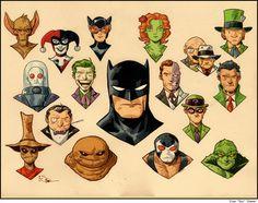 Batman & his Villains