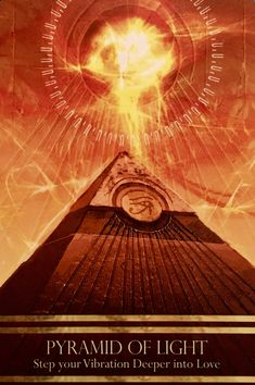 """January 24/2017 Daily Angel Oracle Card: Pyramid Of Light, from the Isis Oracle Card deck, by Alana Fairchild, Artwork by Jimmy Manton Pyramid Of Light: """"Psychic Protection"""" Step Your Vibration Deeper …"""