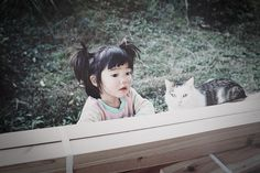 (omg) its lil caylees hair Mirai-chan by kotori kawashima 「未来ちゃん」 Little People, Little Ones, Little Girls, Cute Kids, Cute Babies, Baby Kids, Animals For Kids, Baby Animals, Mother Images