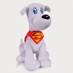 Take home Krypto, Superman's powerful pup from Krypton! - DC Comics Super-Pets Krypto Plush | ShopDCEntertainment.com