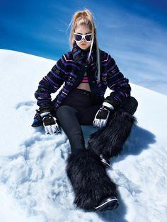 ski-winter-fashion-teen vogue chicquero Got to get me a pair of those bootskis! Ski Fashion, Teen Fashion, Winter Fashion, Fashion Women, Fashion Shoot, Fashion Outfits, Teen Vogue, Winter Wear, Winter Hats