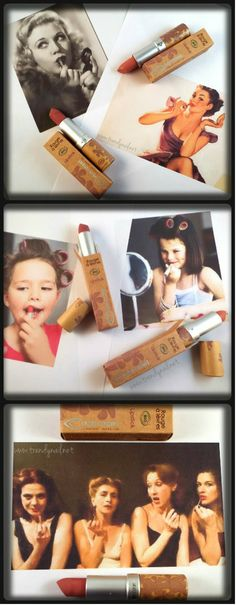 Trendy Nail: Couleur Caramel: natural make up per le labbra - swatch & review rossetti