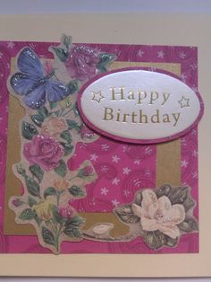 birthday card £2.25