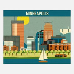 Minneapolis Print