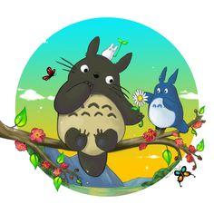 Totoro by MilloVerte.deviantart.com on @deviantART
