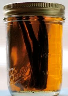Vanilla Beans in Vodka for Vanilla Extract