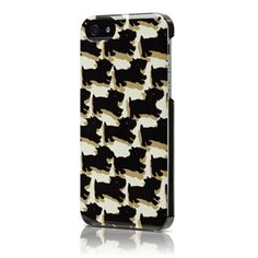 kate spade iPhone 5 Case with scotty dogs.....newest purchase!!!!  RIP WALLY