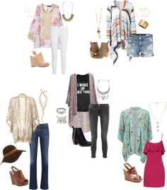 Love these for senior photos! Kimono Love | What to Wear Wednesday | Arkansas Senior Portraits - Heather Owens Photography