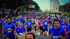Más de 20 mil personas participarán del evento (Maratón Buenos Aires)