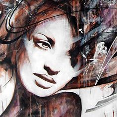 Danny O Connor red realistic painting