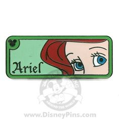 Disney Hidden Mickey Pin - Princess Eyes - Ariel