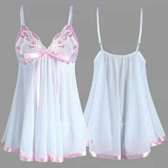 Retro Lingerie, Cute Lingerie, Lingerie Outfits, Babydoll Lingerie, Women Lingerie, Dress Outfits, Sexy Dresses, Fashion Dresses, Sweet Dress