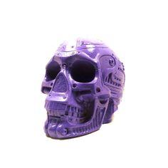 cyborg skull head, steampunk, robot, sci fi, home decor, science, skull art, skull sculpture, geek