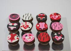 Bachelor's party cupcakes by BioLed