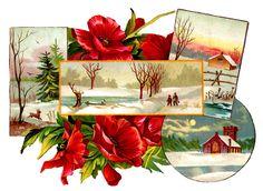 digital christmas clip art