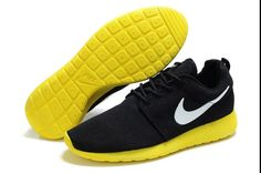 separation shoes 2aceb 64265 Nike Roshe Run Mesh Zwart Zilver Geel Schoenen Heren as you see,Modern  shoes with good quality is here.