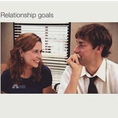 And basically every single time they have ever interacted with one another because they are the ultimate OTP. | 26 Times Jim And Pam's Relationship Was Way, Way Too Real