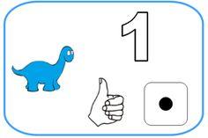 Affiches 1 à 5 avec Pop - Les p'tites décos de Lolo Dinosaurs Preschool, Art Mat, Pop Albums, Dinosaur Crafts, Petite Section, Math Numbers, Activity Games, Deco, Kids
