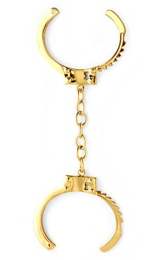 so adorable -- Handcuff Cuffs by Jennifer Fisher Now Available on Moda Operandi