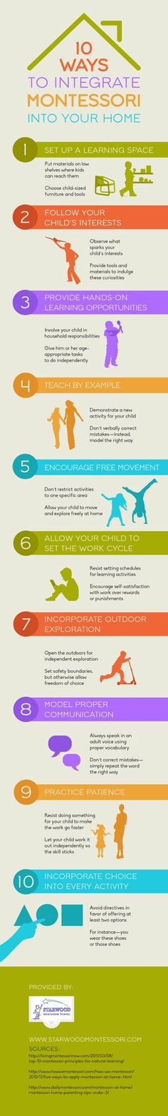 10 Ways to Integrate Montessori into Your Home